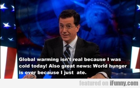 Global Warming Isn't Real