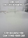 Come For The Chicken Wings...