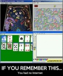 If You Remember This, You Had No Internet...