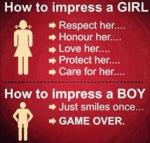 How To Impress A Girl...
