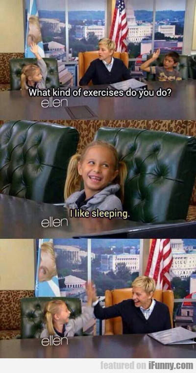 What Kind Of Exercise Do You Do?