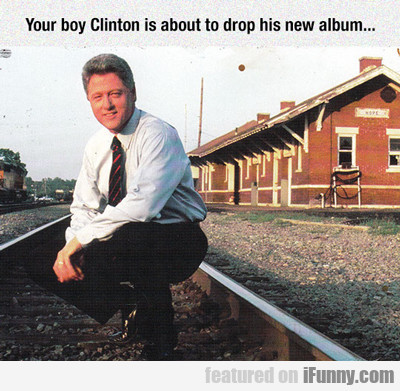 Your Boy Clinton Is About To Drop His New Album...