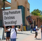 Stop Premature Christmas Decorating...