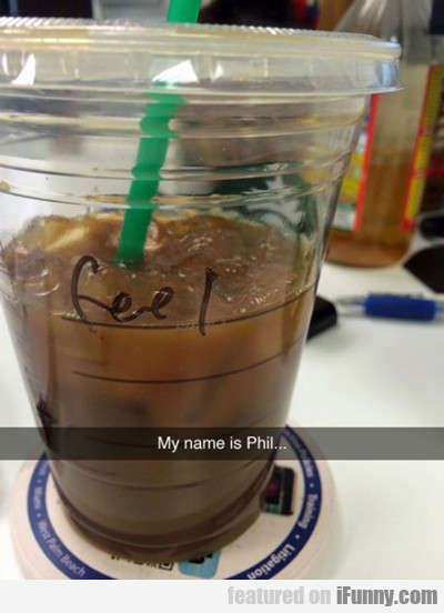 My Name Is Phil...