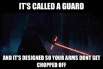 It's Called A Guard...