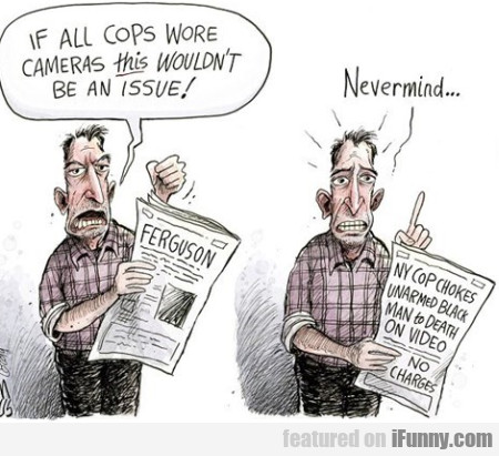 if all cops wore cameras