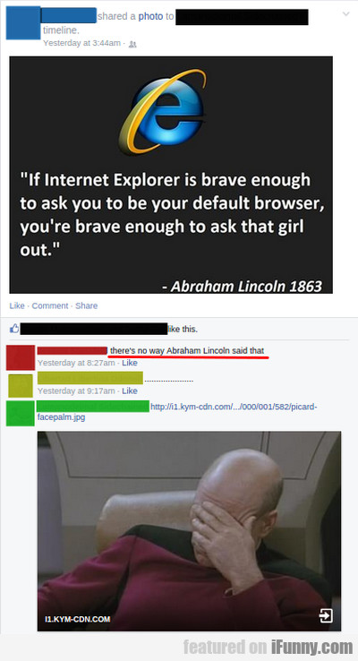 If Internet Explorer