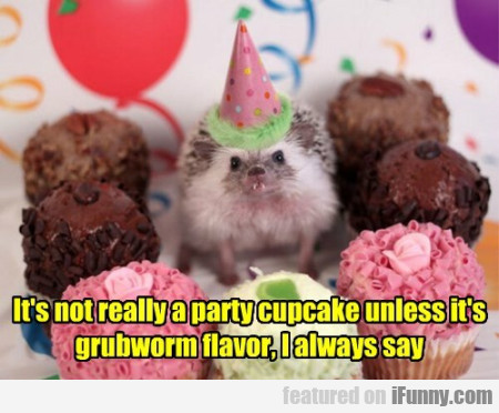It's Not Really A Party