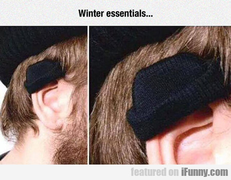Winter Essentials...