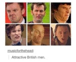 Attractive British Men...