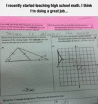 I Recently Started Teaching High School Math...