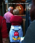 How Not To Wear Your Disney Jumper...