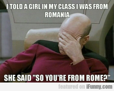 I Told A Girl In My Class...