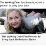 The Walking Dead Fans Have...