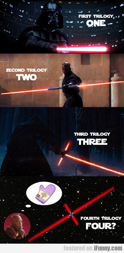 first trilogy one...