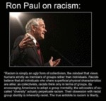 Ron Paul On Racism