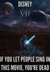 Disney: If You Let People Sing In This Movie...
