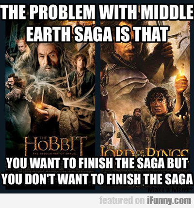 The Problem With Middle Earth Saga...