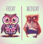 Friday Vs. Monday...