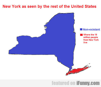 New York As Seen By The Rest Of The United...