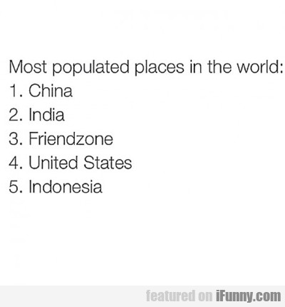 Most Populated Places In The World...