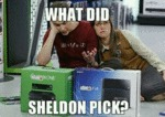 What Did Sheldon Pick?