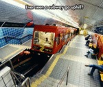 Ever Seen A Subway Go Uphill?