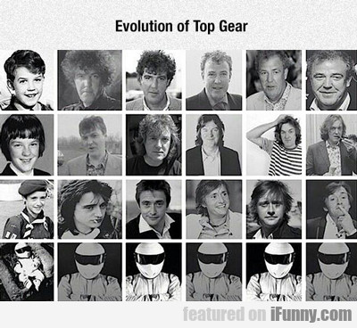 Evolution Of Top Gear...