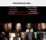 Astonishing Job, Kelly...