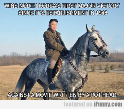 wins north korea's first major victory...