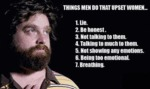 Things Men Do That Upset Women...