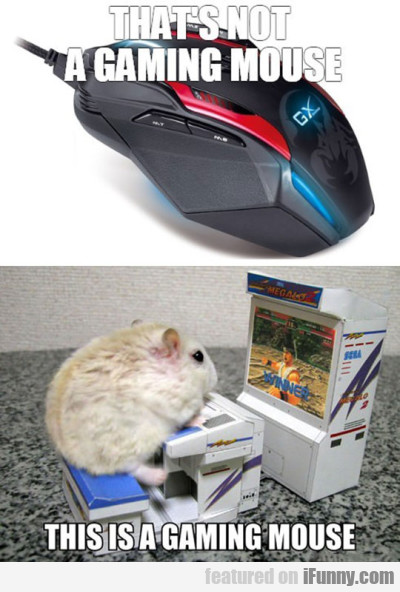 That's Not A Gaming Mouse