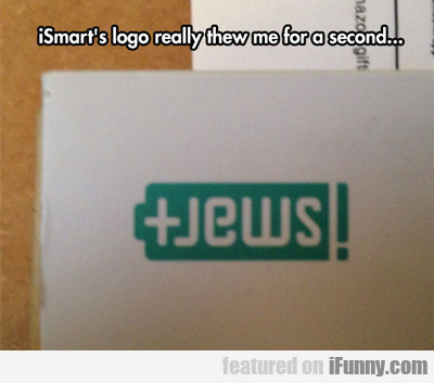 Ismart's Logo Really Threw Me There For A Second