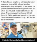 A Dairy Queen Employee.