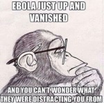 Ebola Just Up And Vanished...