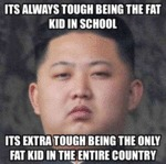 Its Always Tough Being The Fat.