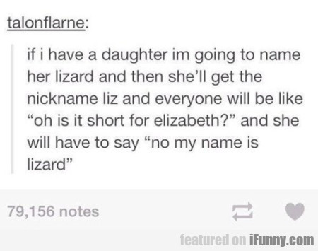if i have a daughter