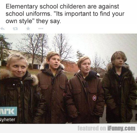 Elementary School Children