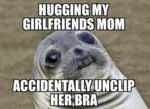 Hugging My Girlfriend's Mom...