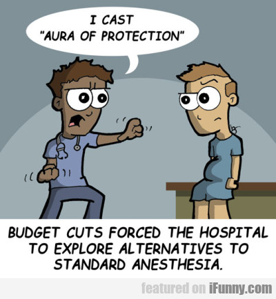 I Cast Aura Od Protection