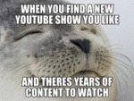 When You Find A New Youtube Show You Like...