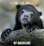 I Love The Smell Of Gasoline...