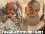 Even Wizards Were Once Babies...