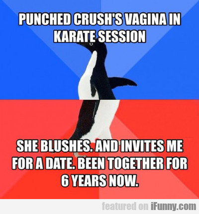 Punched Crush's Vagina...
