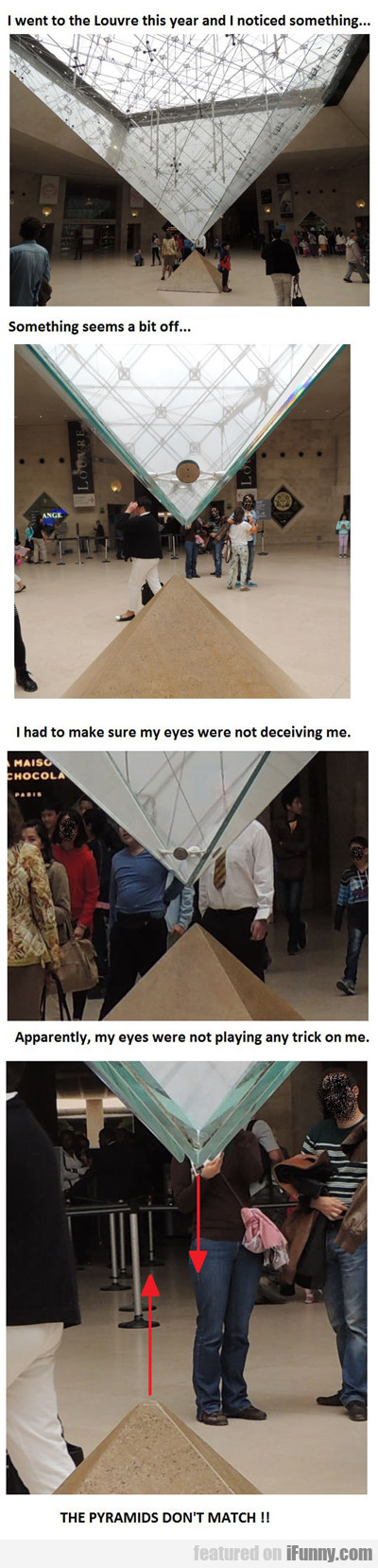 I went to the louvre this year...