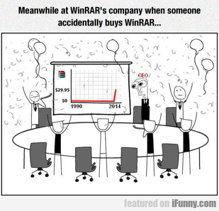 Meanwhile At Winrar's..