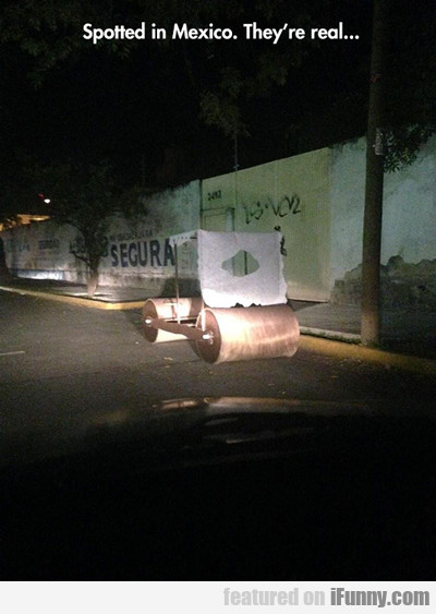Spotted In Mexico...