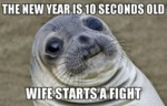 The New Year Is 10 Seconds Old...