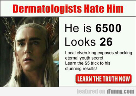 Dermatologists Hate Him...