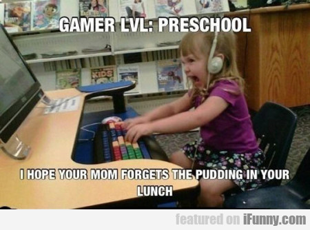 Gamer Lvl Preschool